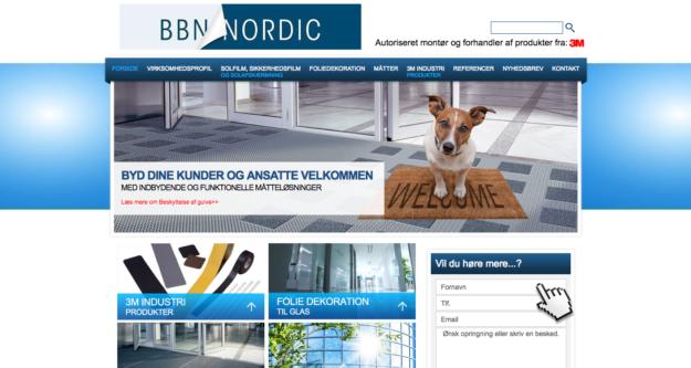 BBN Nordics danske side