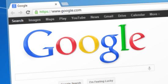 Google SERP image