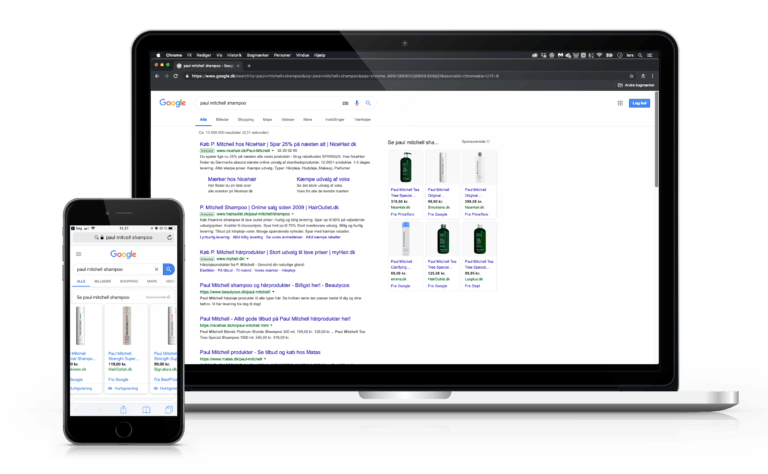 Google Shopping - en del af SEM