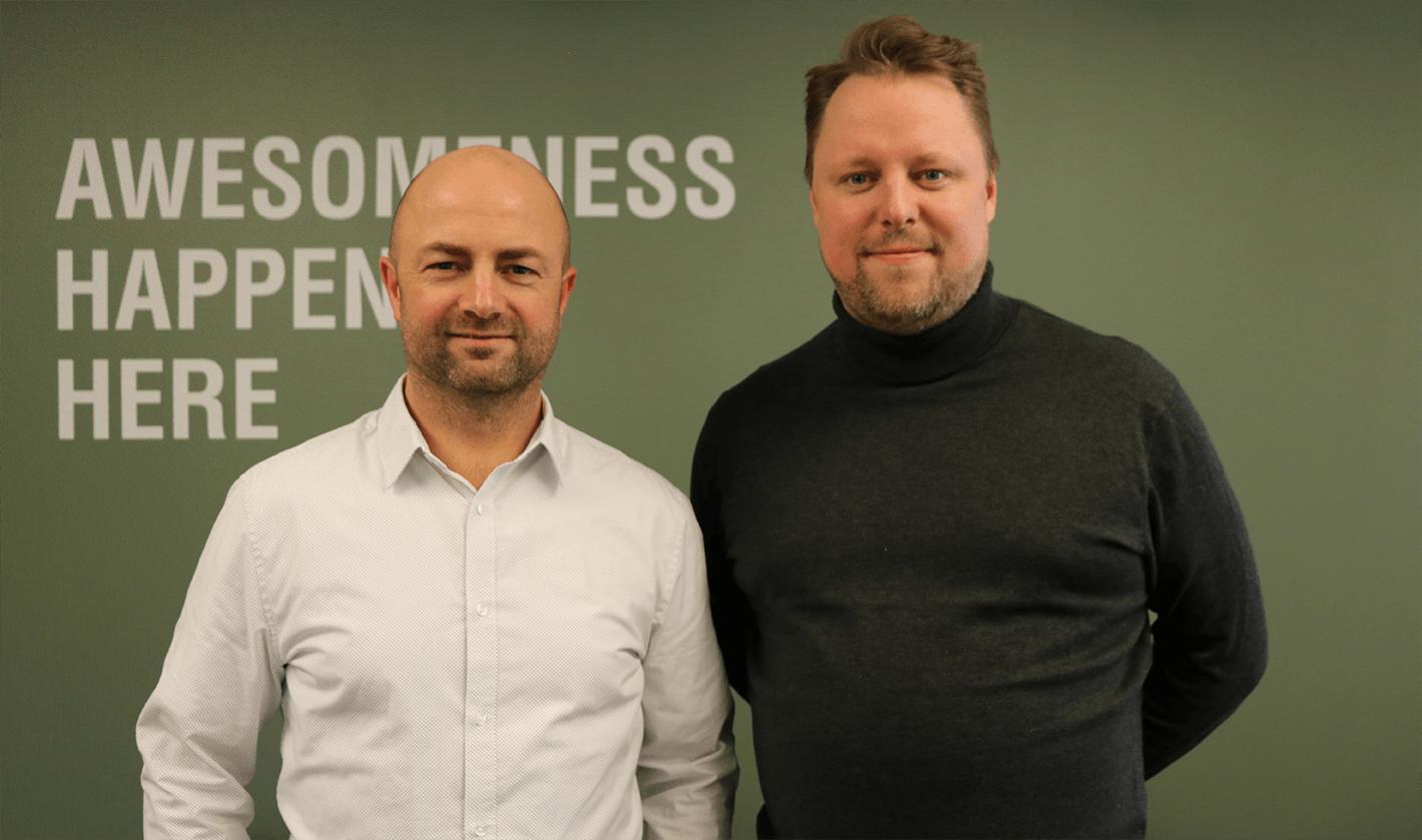 Lars Skjoldby og Mads Jespersen
