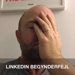 Begynderfejl i LinkedIn updates
