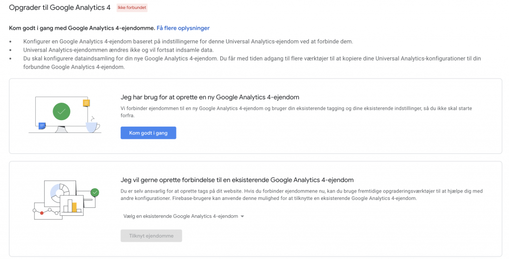 Opgrader Til Google Analytics 4