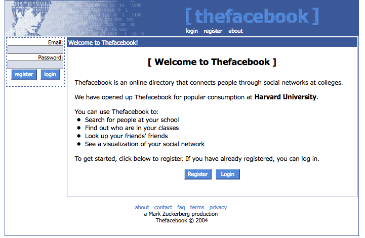 The Facebook Screenshot